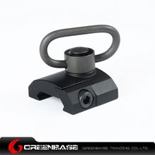 Picture of Unmark GS Type QD Sling Swivel Rail Mount Black NGA0391
