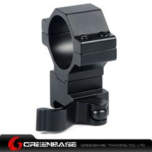 Picture of NB KC05 30mm Ring Weaver QD Mount Adapter Fit 20mm Picatinny Weaver Rail Base Black NGA1115
