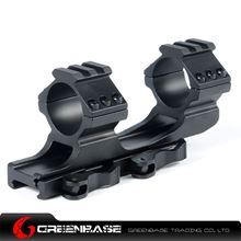 Picture of NB Tactical Top Rail Extend 30/25mm Ring Weaver QD Mount Adapter Fits 20mm Weaver Rail Base Black NGA1136