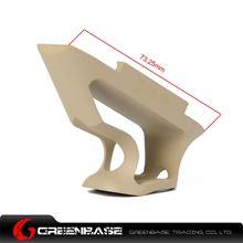 图片 GB CNC Picatinny System Short Angled Grip Dark Earth GTA1350