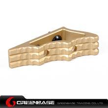 Picture of NB CNC M-LOK Angled Grip Dark Earth GTA1358