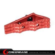 图片 NB CNC M-LOK Angled Grip Red GTA1359