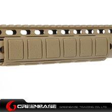 Picture of Unmark Keymod Soft Rail Cover-B modle Dark Earth NGA0875