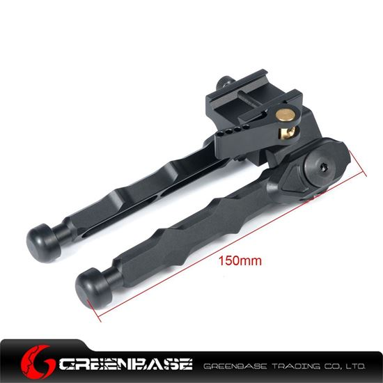 Picture of NB BR-4 QD Bipod Black NGA1182