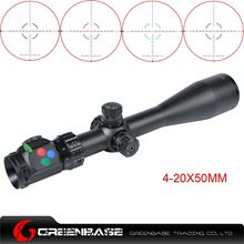 Picture of Woltis 4-20x50mm BDC & Mil-Dot & RXR Reticle Riflescope Black WT-SCP-003