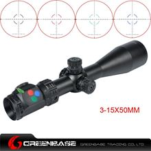 Picture of Woltis 3-15x50mm BDC & Mil-Dot & RXR Reticle Riflescope Black WT-SCP-004