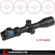 Picture of Woltis 2-10x44mm BDC & Mil-Dot & RXR Reticle Riflescope Black WT-SCP-005