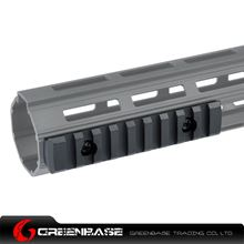 Picture of NB 9 Slots M-LOK Rail Section Fits M-LOK Hand Guard Black GTA1411