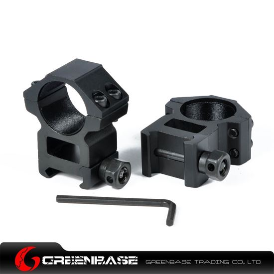Picture of High Profile 1 inch Scope Rings for Weaver rail NGA0178