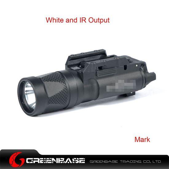 Picture of GB X300V-IR Flashlight White and IR Output Black NGA1208