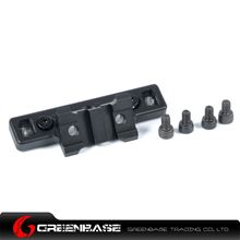Picture of GB ARES Octarms 45 Degree 2 Slot Rail for Keymod System Black GTA1491