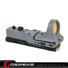 Picture of GB Tactical Railway Reflex Sight Red Dot For 20 Rail Gray NGA1238