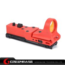 Picture of GB Tactical Railway Reflex Sight Red Dot For 20 Rail Red NGA1240