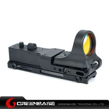Picture of NB Tactical Railway Reflex Sight Red Dot For 20 Rail Black NGA1242