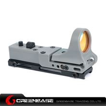 Picture of NB Tactical Railway Reflex Sight Red Dot For 20 Rail Gray NGA1244