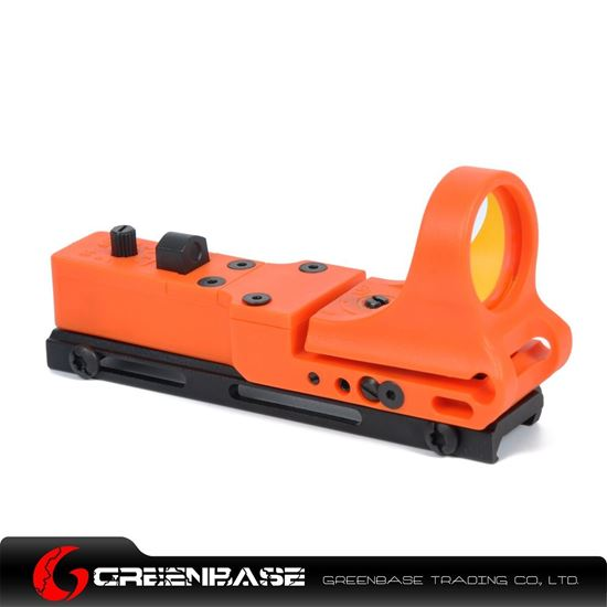 Picture of NB Tactical Railway Reflex Sight Red Dot For 20 Rail Orange NGA1245