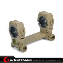 Picture of Unmark M10 QD-L 1 inch to 30mm Ring with Level Dark Earth NGA0396