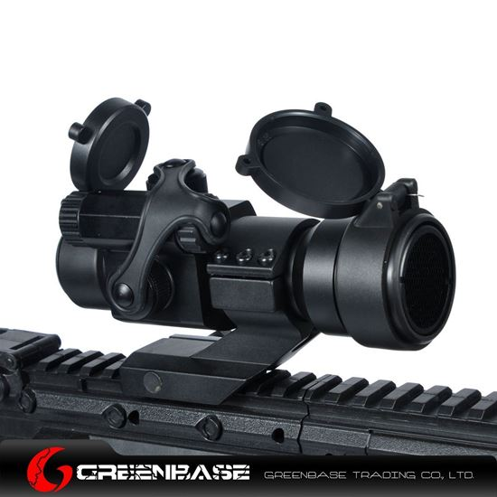 Picture of Tactical 1X32 Cantilever Mount Red Dot Rifle Scope with Kill Flash Fit 20mm Weaver Rail NGA0231