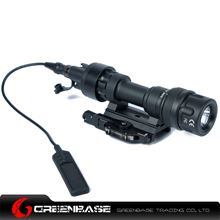 Picture of NB M952V LED WeaponLight For Rifles And SMGs White And IR Output Black NGA1254