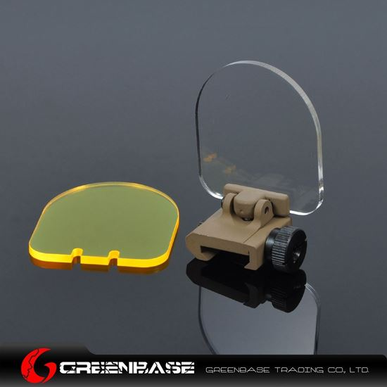 Picture of Universal Folding Lens Protection for Scope Dark Earth Base NGA0348