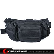 Picture of 1000D Tactical Waist Packs Black GB10147