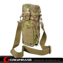Picture of 1000D Sports bottle bag Green Camouflage GB10223