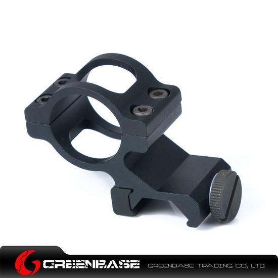 Picture of Unmark Offset Flashlight 1 inch Ring Mount Black NGA0346