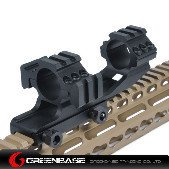 Picture of Tri-Side Rail extend 25.4 mm Ring Mount Black NGA0142