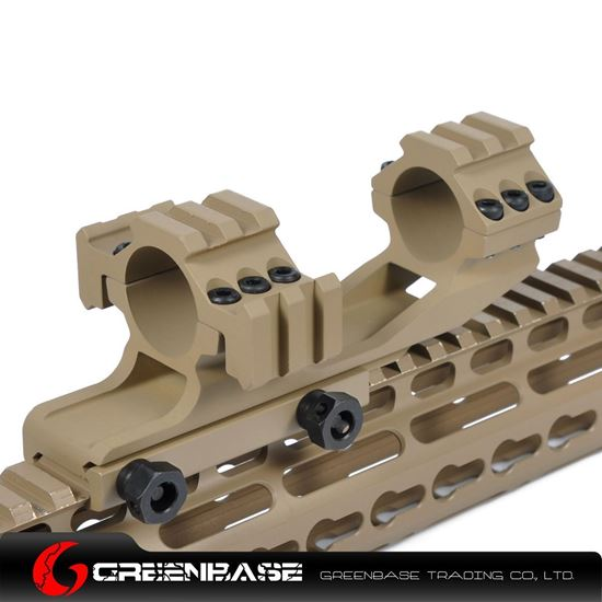 Picture of Tri-Side Rail extend 25.4 mm Ring Mount Dark Earth NGA0143
