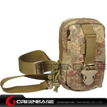 Picture of 9119# 1000D Inclined shoulder bag Khaki Camouflage GB10180