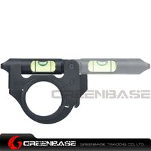 Picture of NB Ultra Precision Articulating Scope Level Movable 25-30mm Bubble Level 2 Position Black NGA1307