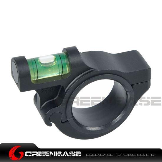 Picture of NB Fixed Rigid Scope Level 25-30mm Bubble Level Black NGA1309