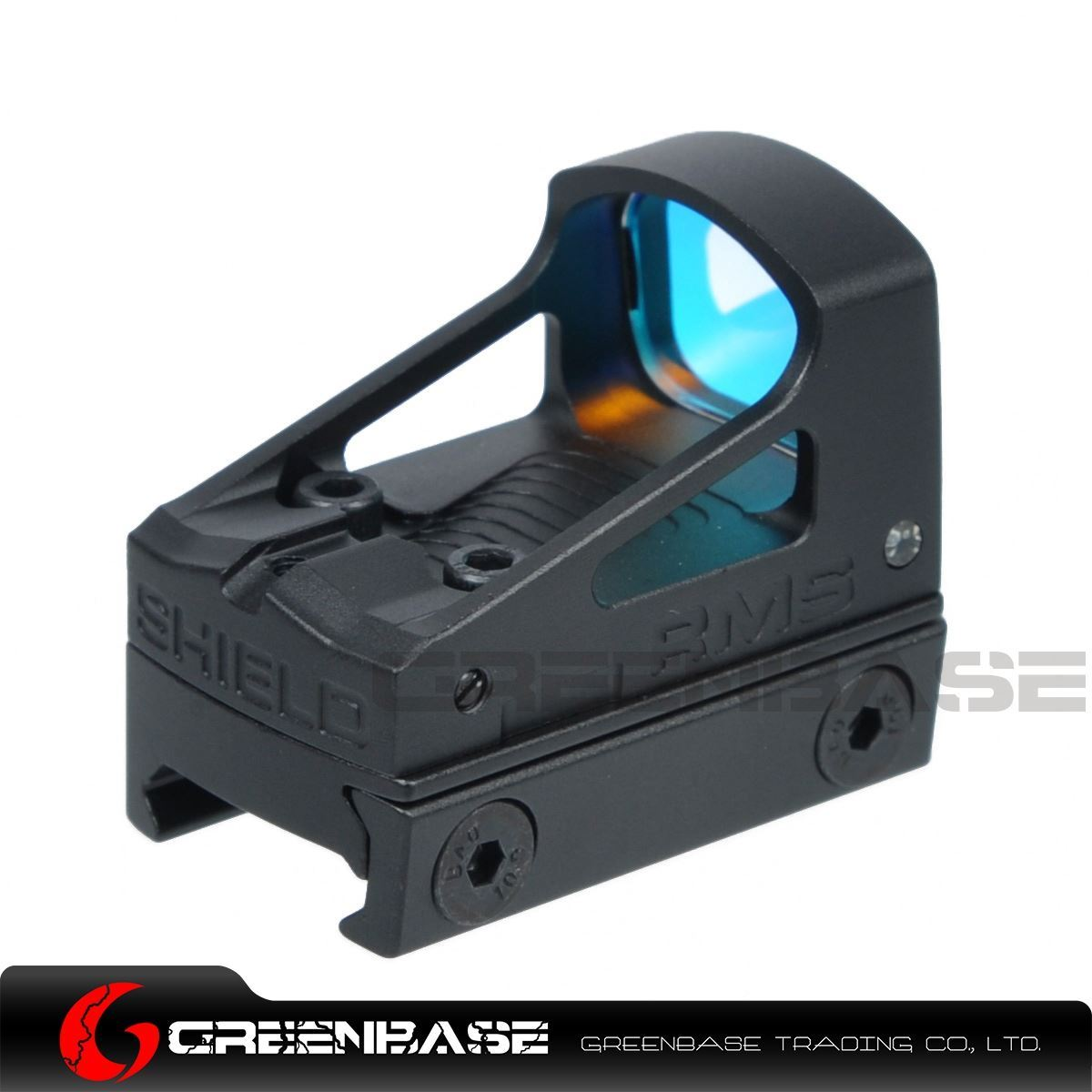 Hunting Aluminium RMS Reflex Mini Rifle Red Dot Sight with Vented Mount  Spacer