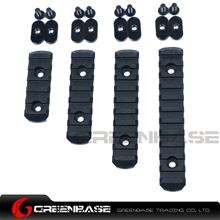 Picture of  EX 254 Polymer Rail Sections For MP handguard Black NGA0196