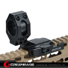 "Picture of NB Tactical Auto Lock Quick Release Cantilever 25mm/30mm Scope Ring 2"" Of Forward Scope Position Picatinny Weaver QD Mount Black NGA1320"