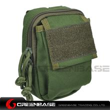 图片 8223# Backpack attachment bag Green GB10285