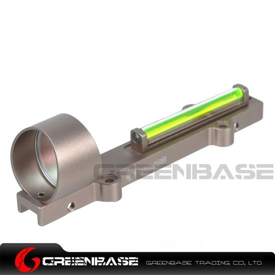 Picture of GB 1X28 Collimeter Sight Optic Fiber Green Circle Dot Sight For Shotgun Dark Earth NGA1346