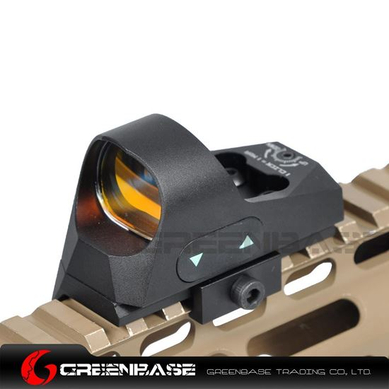 Picture of NB 1x25 Mini Reflex Sights 1 MOA Adjustments 3 MOA Dot Reticle Red Dot Sight With 1913 Mount/QD Mount Black NGA1361