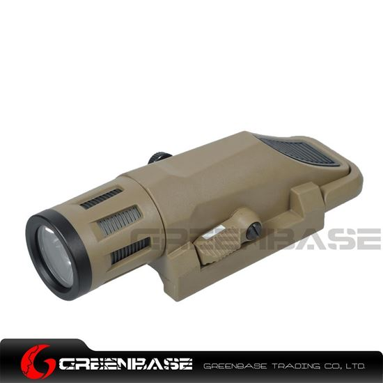 Picture of NB WML Tactical Illuminator Constant Momentary and Storbe 3 Modes Short Version Dark Earth NGA1379