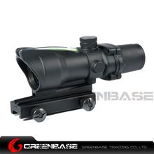 Picture of NB RC 4X32 Optical Rifle Scope With Green Illumination Source Fiber Enhanced Edition Black NGA1387