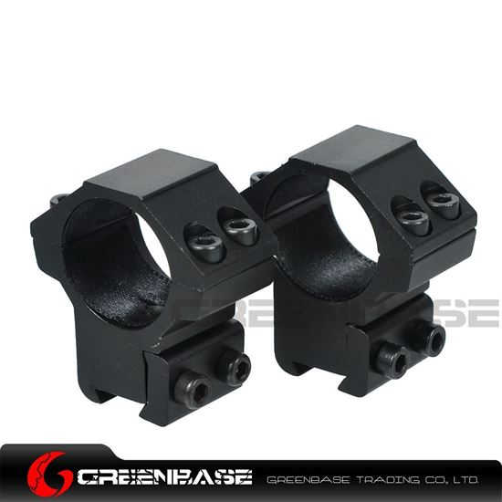Picture of Medium Profile 1 inch Scope Rings for dovetail 11mm rail NGA0184