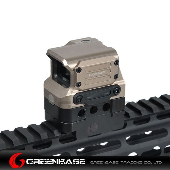 Picture of GB Tactial FC1 Red Dot Sight 2 MOA Reflex Sight 1x Holographic Sight For 20mm Rail Dark Earth NGA1413