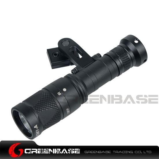 Picture of NB M300V-IR Tactical Light White Light and IR Output IR Head Designed For ARC Helmet Rail Black NGA1425