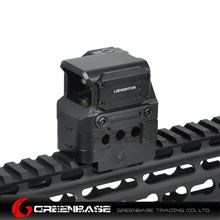 Picture of NB Tactial FC1 Red Dot Sight 2 MOA Reflex Sight 1x Holographic Sight For 20mm Rail Black NGA1395