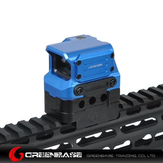Picture of NB Tactial FC1 Red Dot Sight 2 MOA Reflex Sight 1x Holographic Sight For 20mm Rail Blue NGA1398