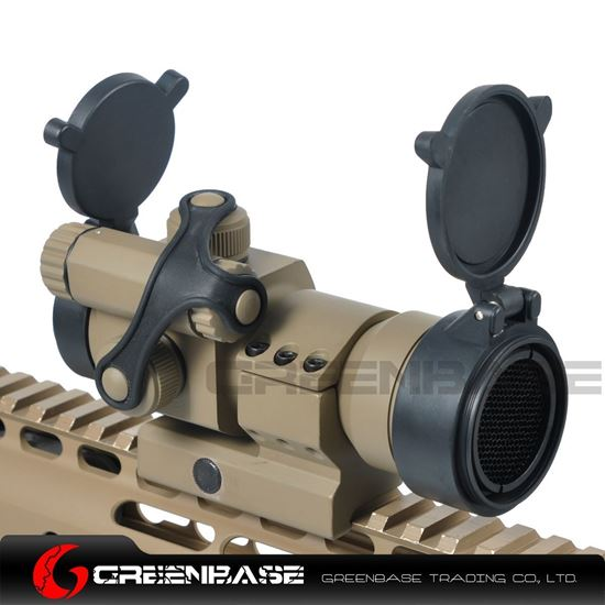 Picture of Tactical M2 1X32 Low Mount Red Dot Rifle Scope with Kill Flash Fit 20mm Weaver Rail Dark Earth NGA0238