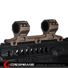 Picture of NB GE Scope Mount 25.4mm/30mm Scope Ring Mount Long Version Gold Brown NGA1549