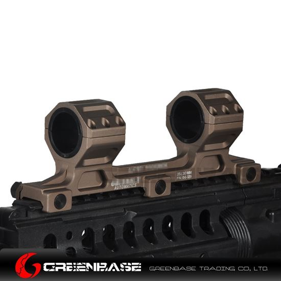 Picture of GB GE Scope Mount 25.4mm/30mm Scope Ring Mount Long Version Gold Brown NGA1553