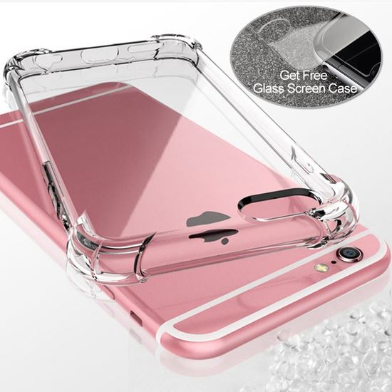 Picture of TPU soft clear Phone case For iPhone X  PHC-X